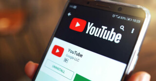 Youtube App auf Smartphone