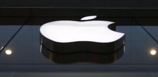 Apple Gebaüde Logo