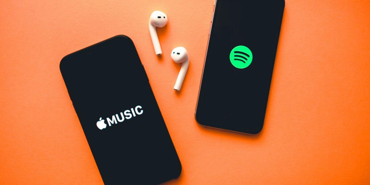Apple und Spotify