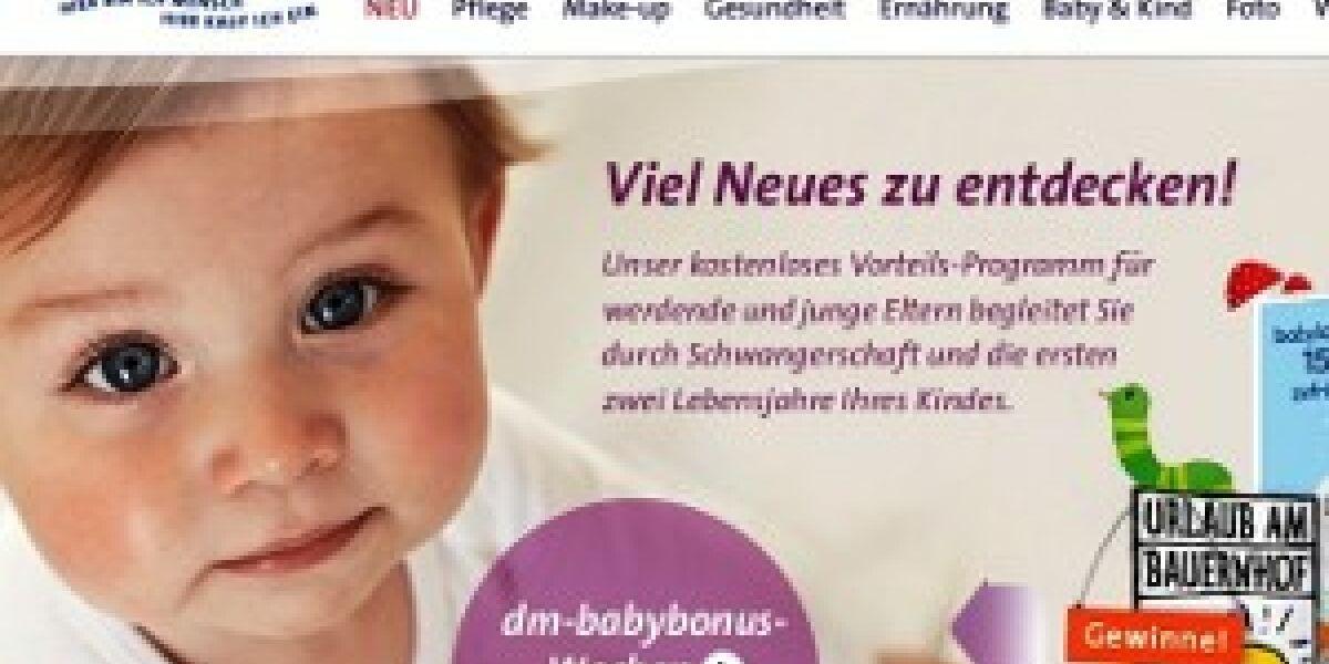 Weitclick relauncht Website für dm