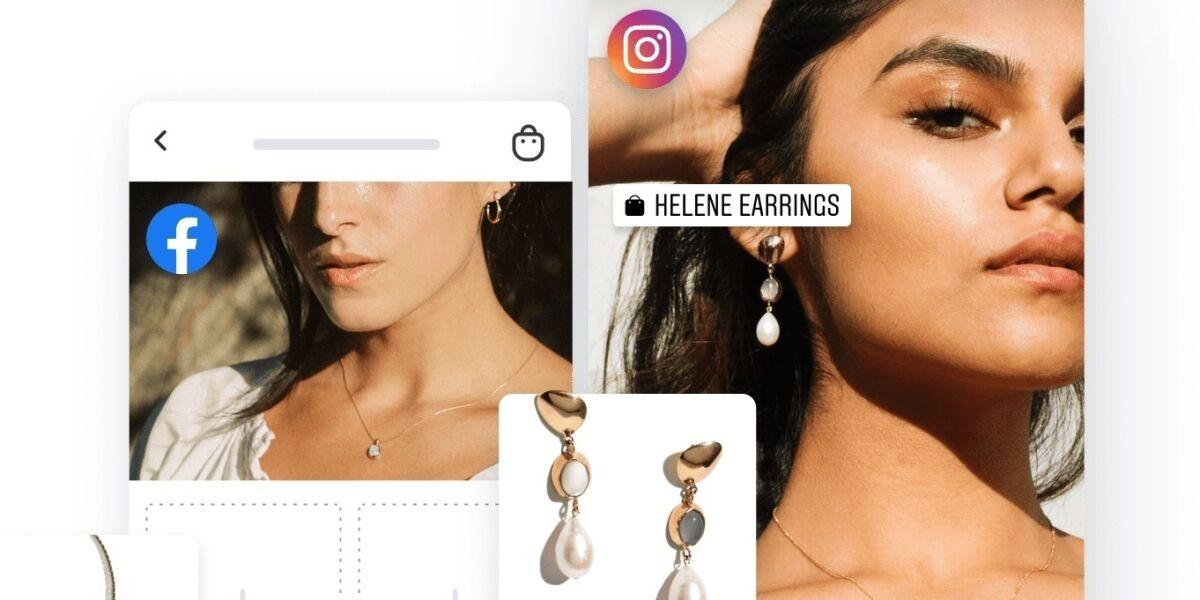 Storefront auf Instagram und Facebook