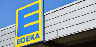 Edeka-Logo an Filiale