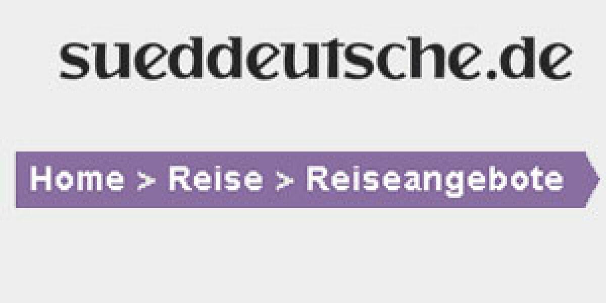 sueddeutsche.de startet Reiseportal