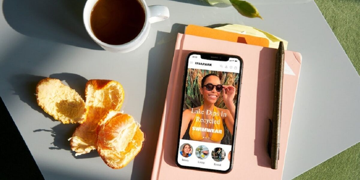 Itsapark-App auf Smartphone
