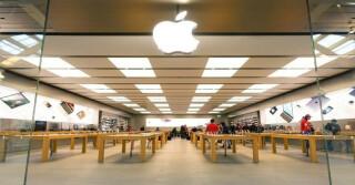 Blick in einen Apple Store