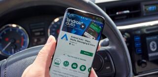 Google Android Auto App auf Smartphone