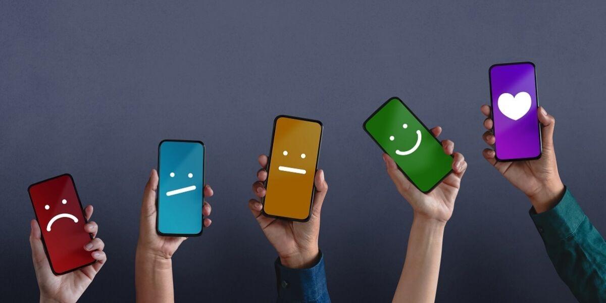 Kundenzufriedenheitsumfragen auf dem Smartphone