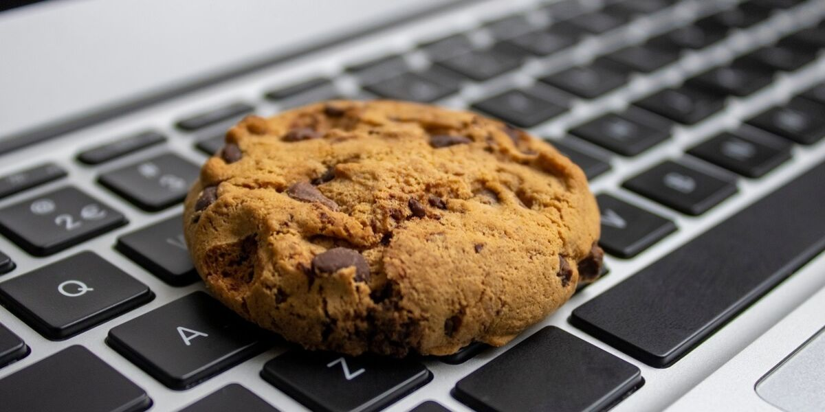 Cookie auf Tastatur