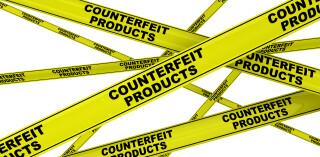 Hinweis auf gefälschte Produkte