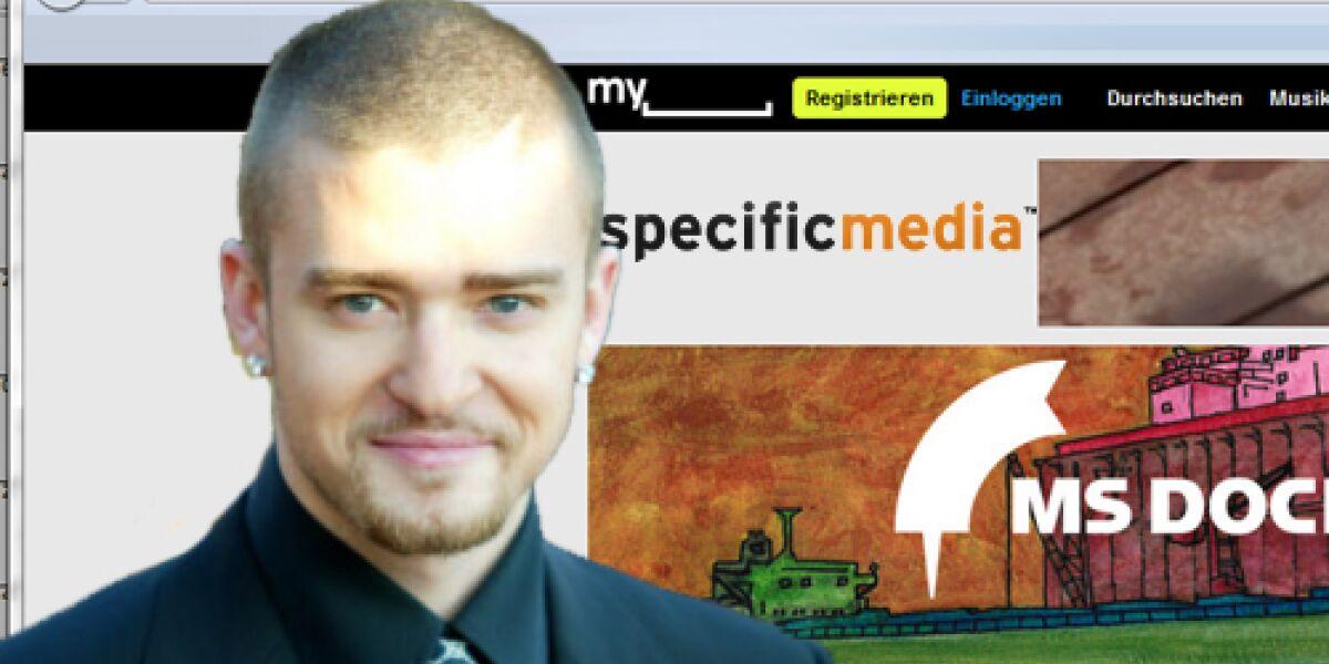 Specific Media übernimmt Myspace