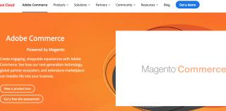 Adobe Commerce Landing Page