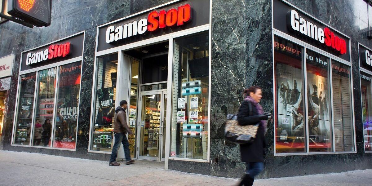 Gamestop-Laden in New York City