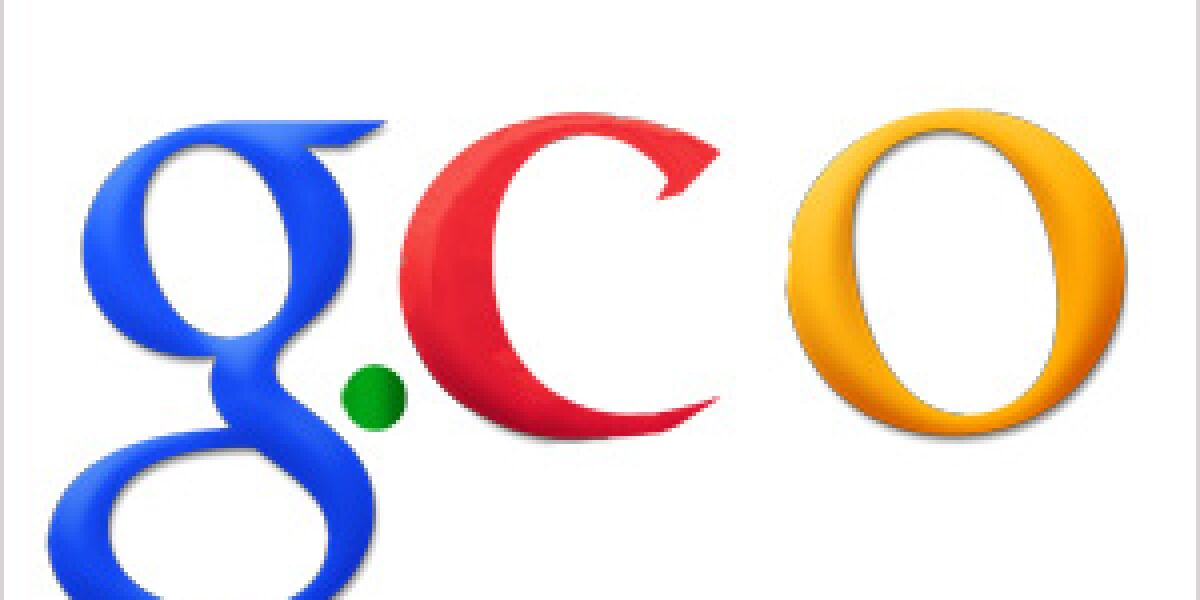 Google erwirtb Domain g.co