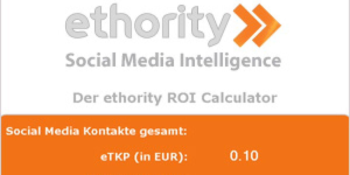 ethority startet ROI-Calculator