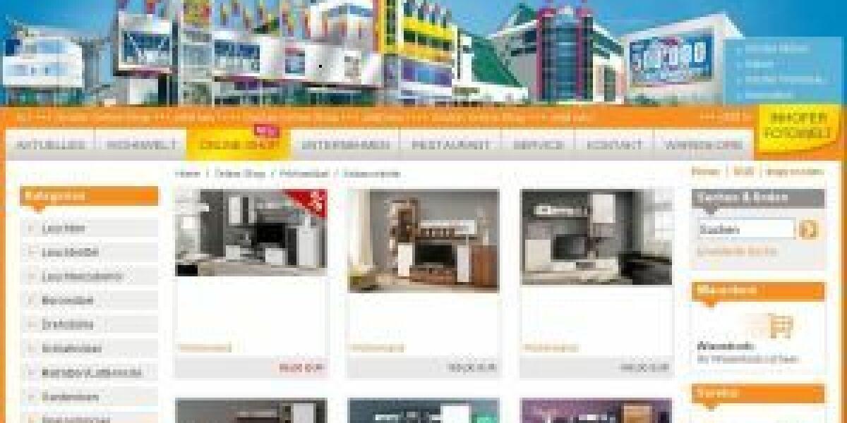 Möbel Inhofer macht E-Commerce