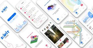 Skipit App auf mehreren Smartphones