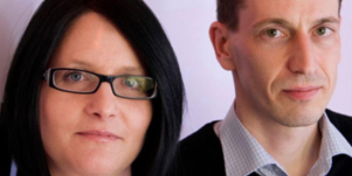 Beate Rank und Tobias Kobier: Gründer von Tradoria