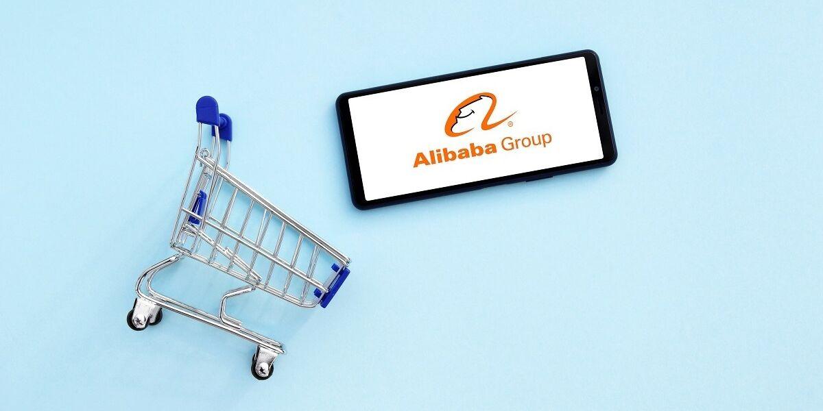 Einkaufswagen Alibaba