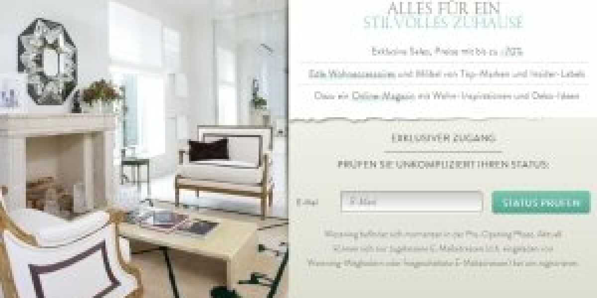 Shopping-Club für Möbel
