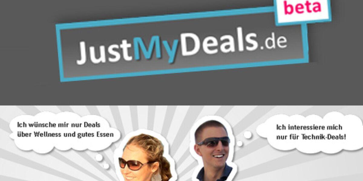 JustMyDeals.de kategorisiert und sortiert Deals