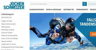 Online Shop Jochen Schweizer