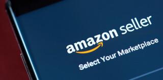 Amazon Seller App auf Smartphone Screen