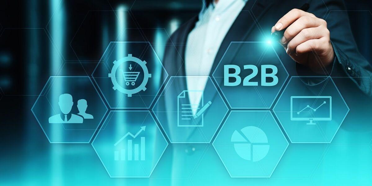 B2B Marketing Konzept