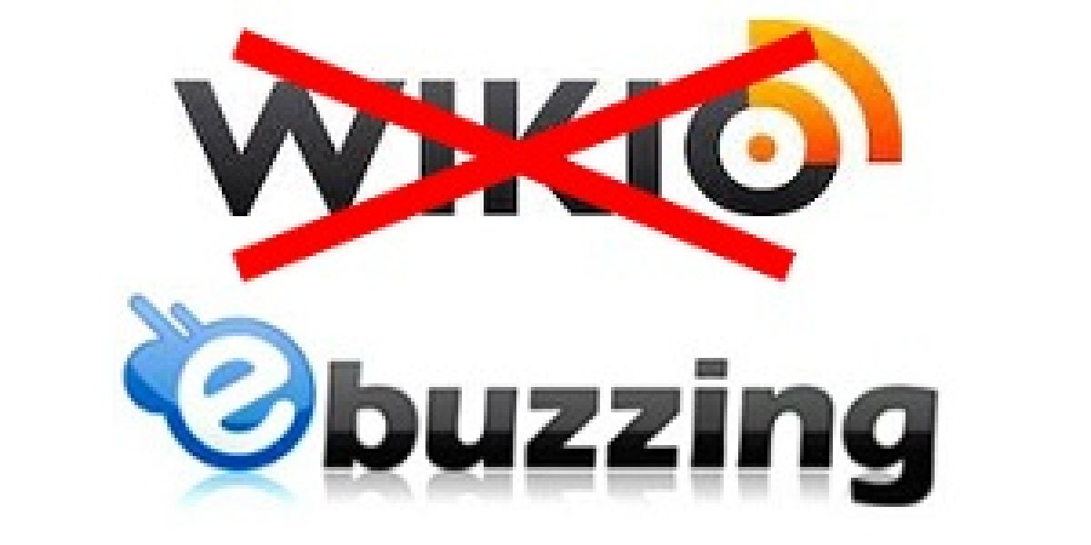 Wikio wird zu ebuzzing