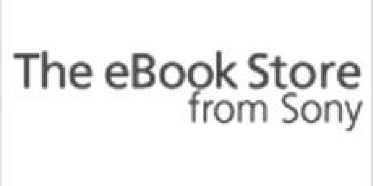Sonys E-Book-Store kommt