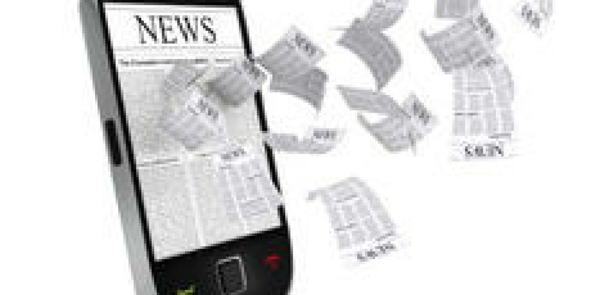 Akzeptanz digitaler Zeitungen und Zeitschriften (Foto: istockphoto.com/alexsl)
