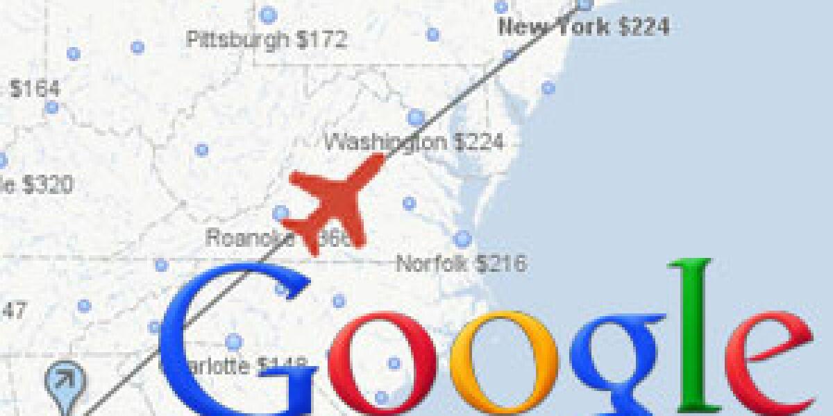 Google debütiert seine neue Flugsuche