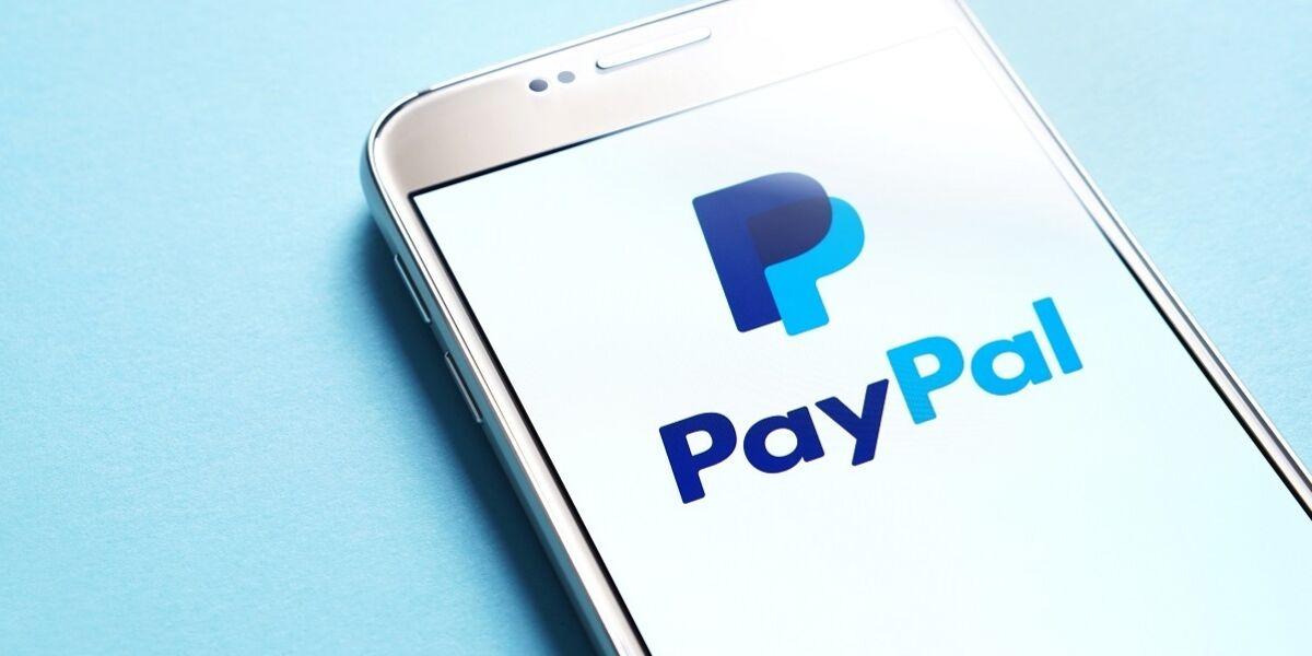 PayPal App auf Smartphone