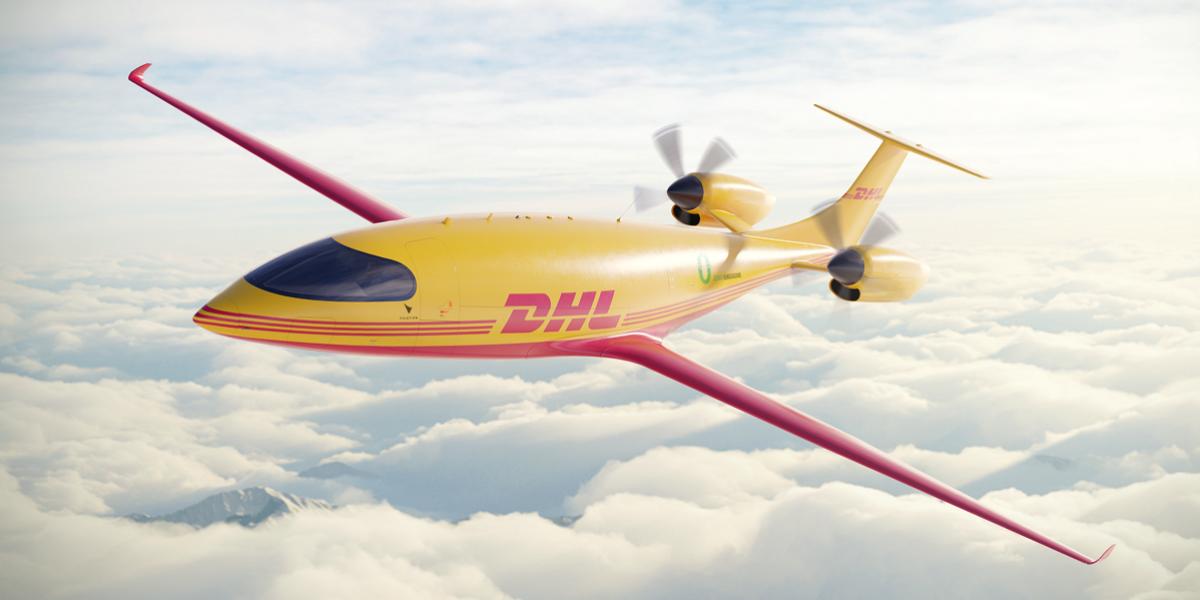 DHL Elektroflugzeug