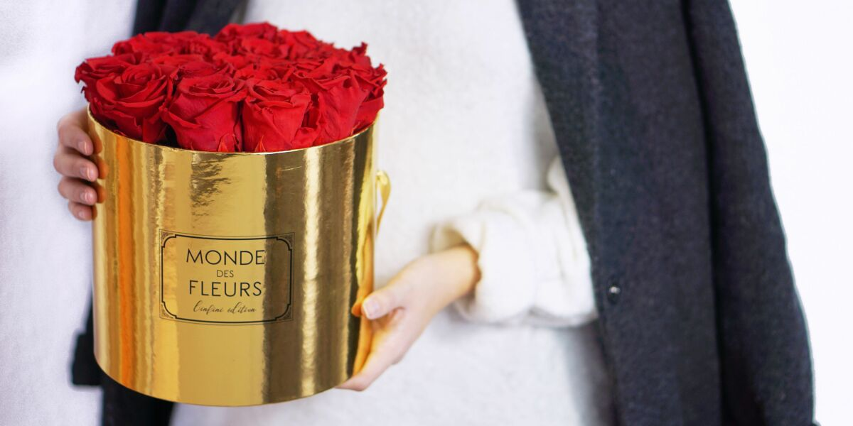 Monde des Fleurs Rosen-Box
