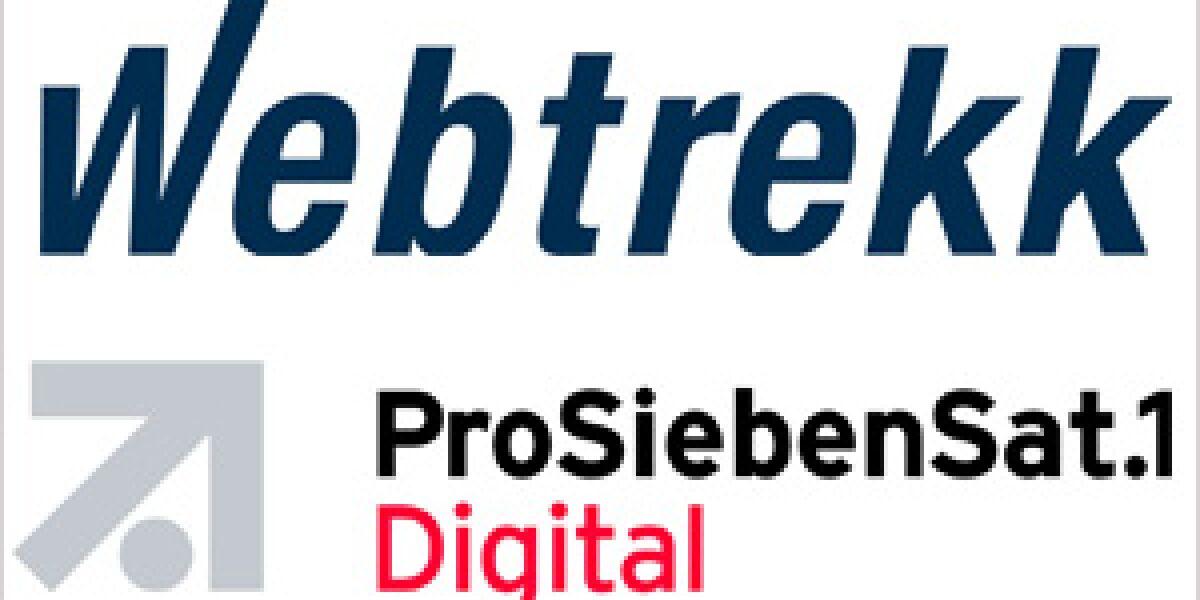 ProSiebenSat.1 lässt Webtrekk analysieren
