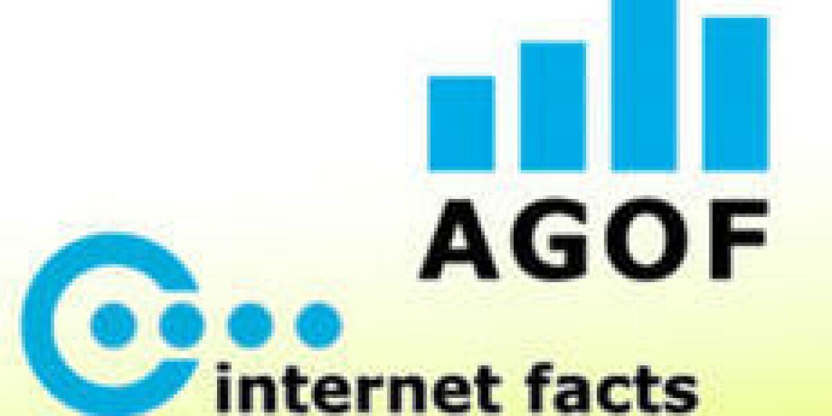 Angebots-Ranking der Agof internet facts für Juni 2011
