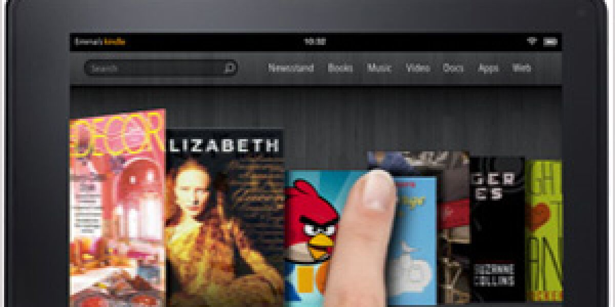 Amazon stellt Kindle Fire vor