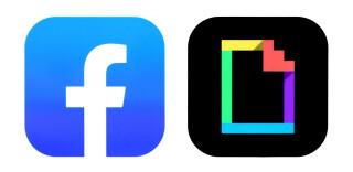 Logo-Icons von Facebook und Giphy