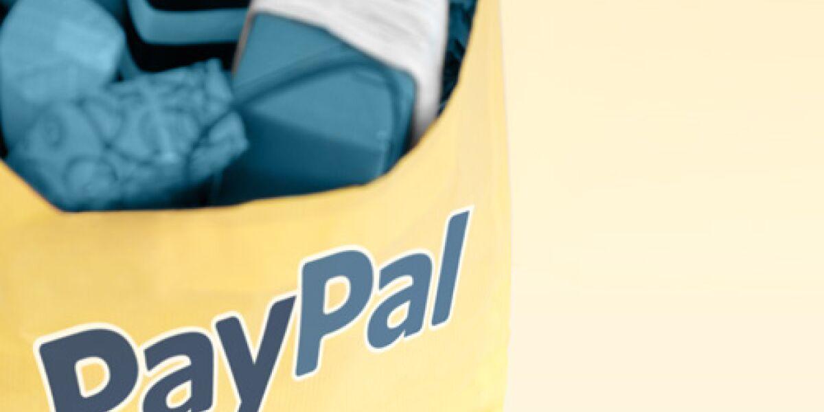 Paypal eröffnet temporären Shop