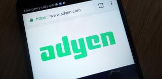 Adyen App auf Smartphone