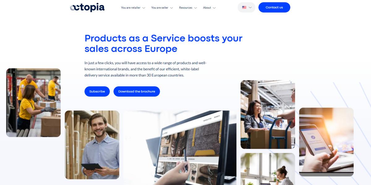Octopia Website