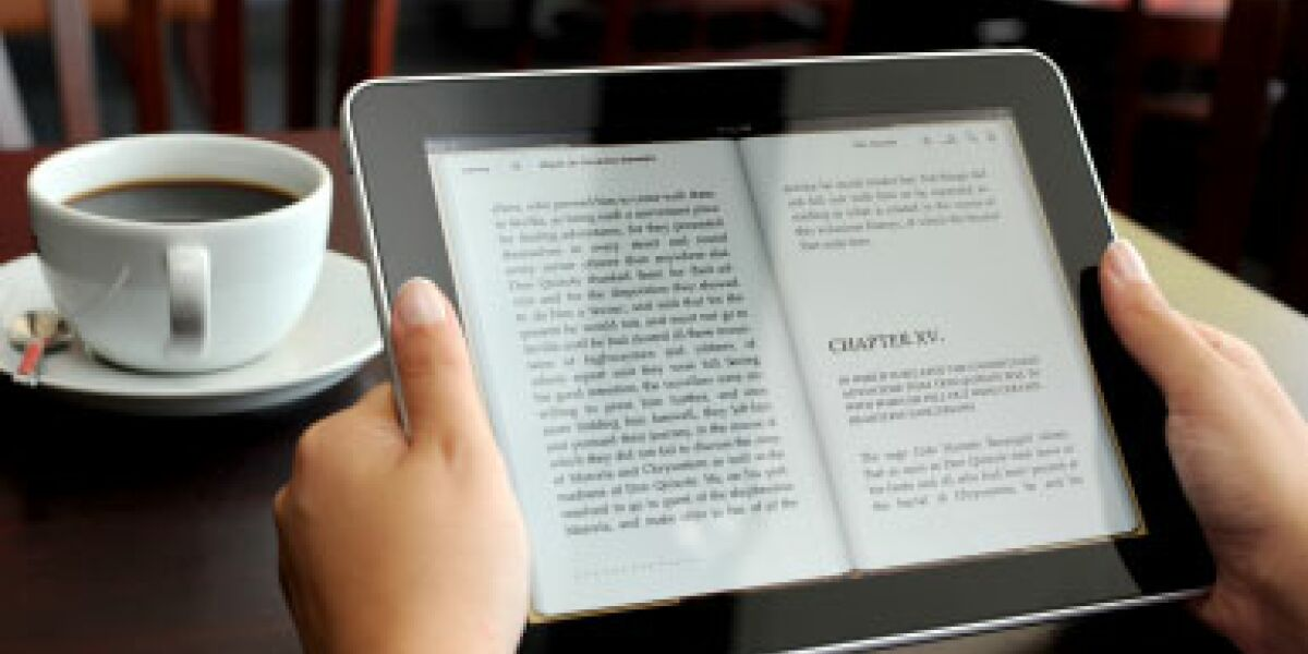 Umsatz mit E-Readern steigt um ein Drittel (Foto: istockphoto.com/arakonyunus)