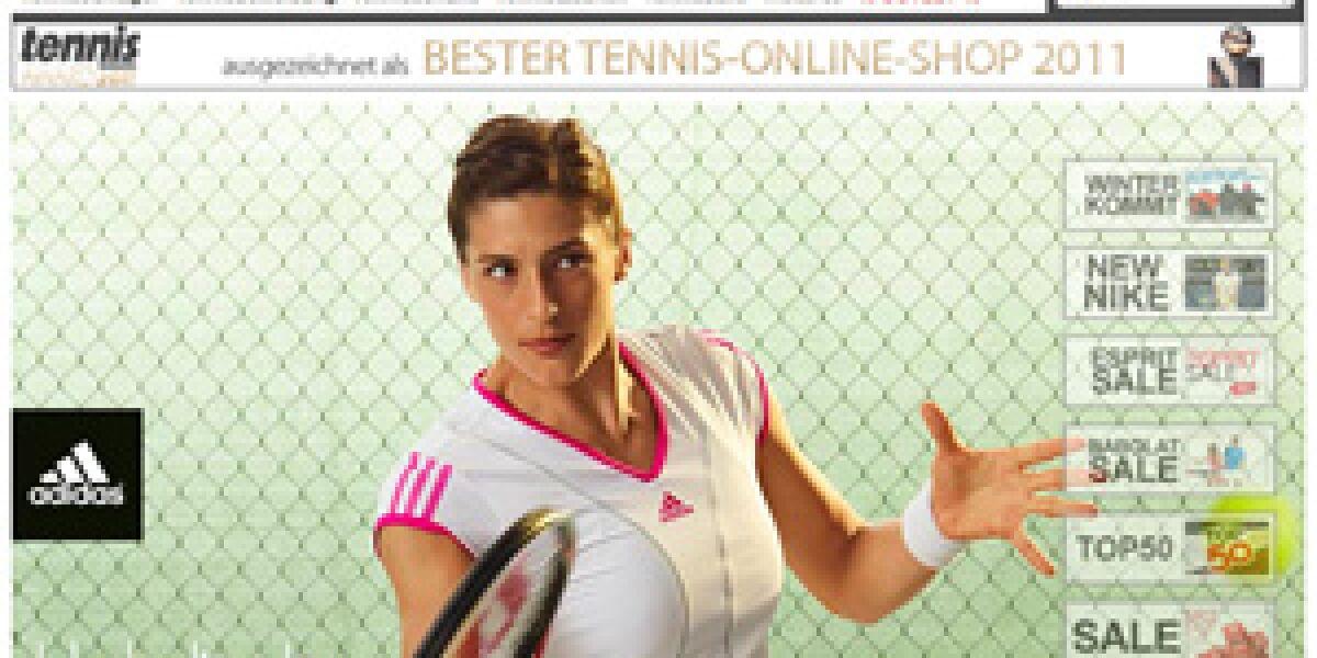 "Tennis-Point.de ist ""Online-Shop des Jahres 2011"""