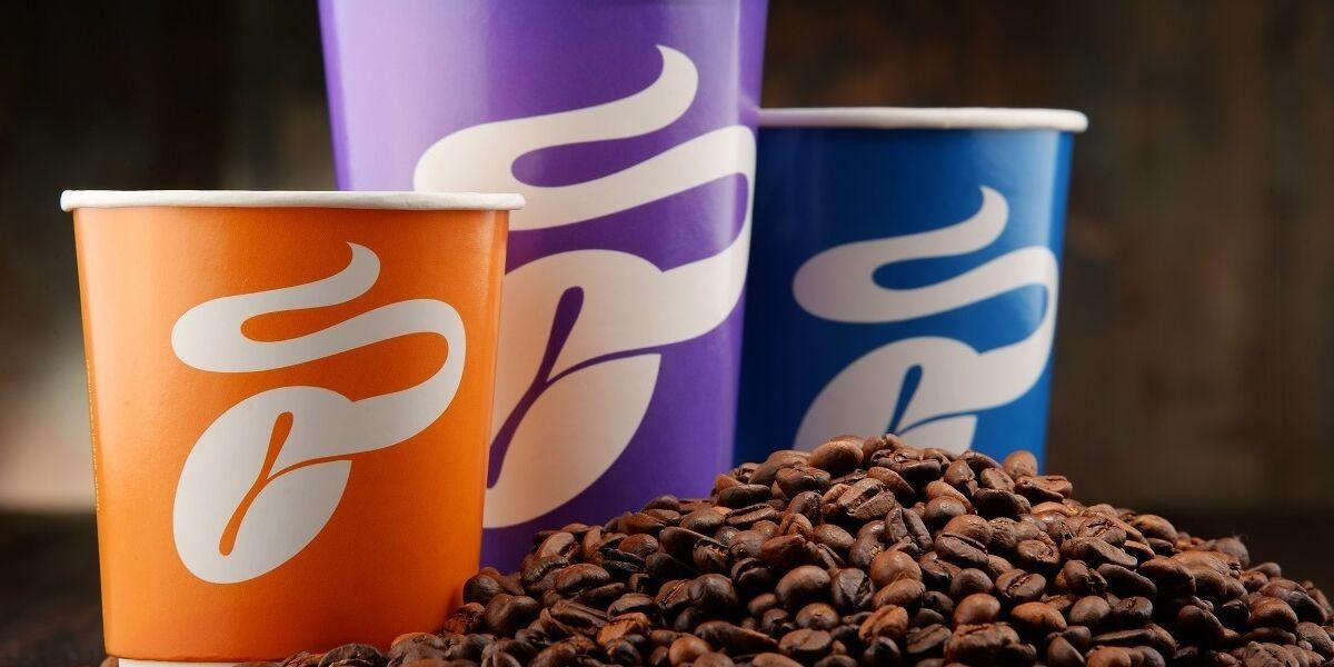 Kaffee-Becher von Tchibo