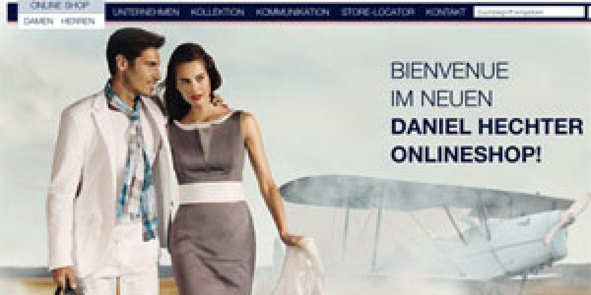 Shopmacher realisieren Onlinefiliale für Daniel Hechter