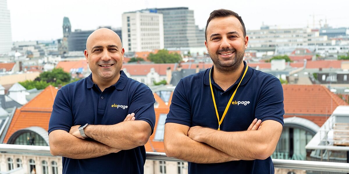 Elopage Gründer Özkan Akkilic und Tolga Önal
