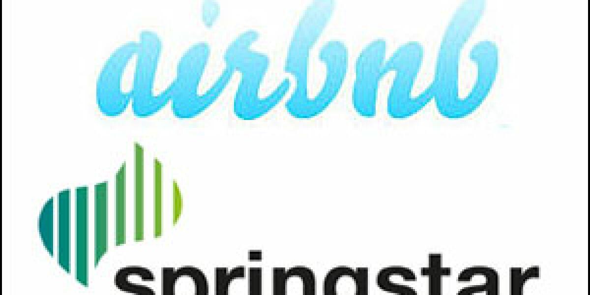 Airbnb kooperiert mit Springstar