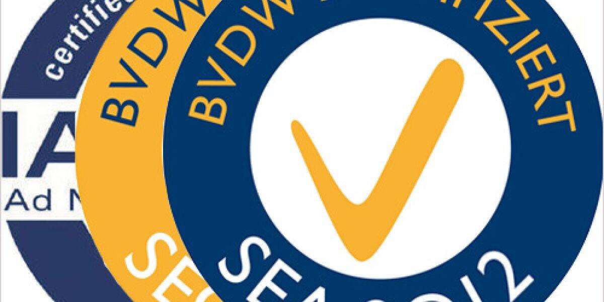 BVDW vergibt Zertifikate für 2012