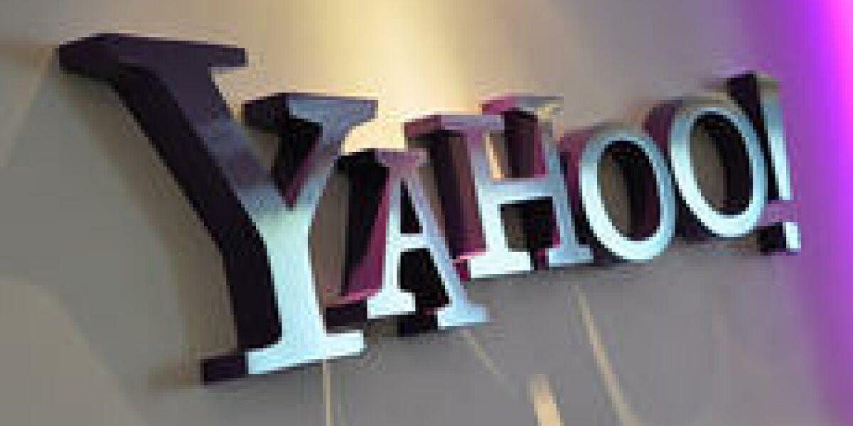 Yahoo verzeichnet weniger Umsatz und Gewinn