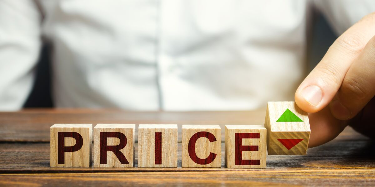 Preise auf- und absteigend